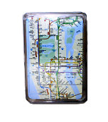Subway Map Playing Cards