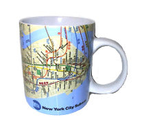 Subway Map Mug