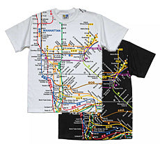 Subway Map (Manhattan) Youth T-Shirt