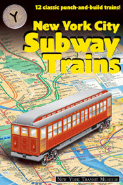New York City Subway Trains (Punch Out) Book