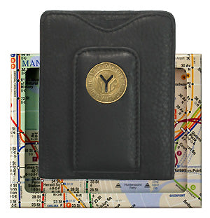 Y Cut Token Wallet (Leather)