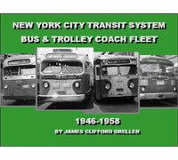 NYCTA Bus & Trolley Coach Fleet (1946-1958) Book