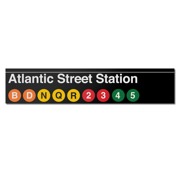 Atlantic Avenue Sign