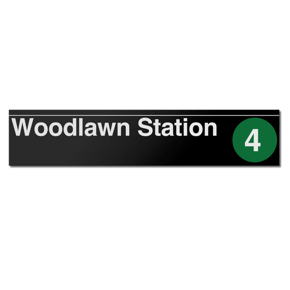 Woodlawn Sign