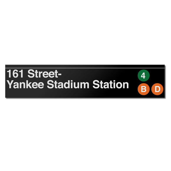 161 Street / Yankee Stadium Sign