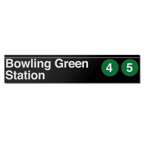 Bowling Green Sign