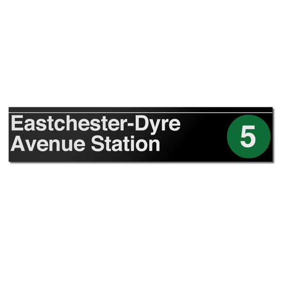 Eastchester / Dyre Avenue Sign