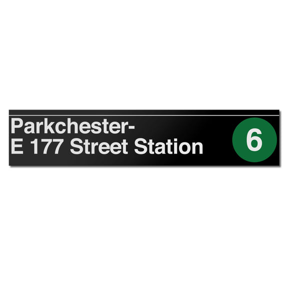 Parkchester / E 177 St Sign