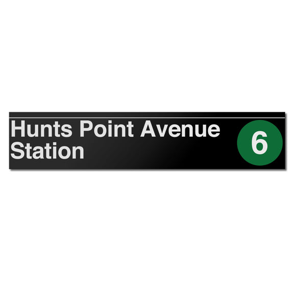 Hunts Point Avenue Sign