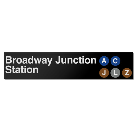 Broadway Junction (East New York) Sign