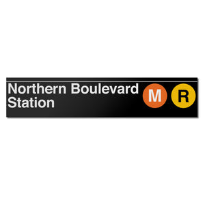 Northern Boulevard Sign