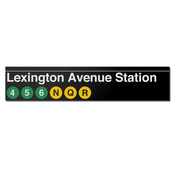 Lexington Avenue / 59 Street Sign