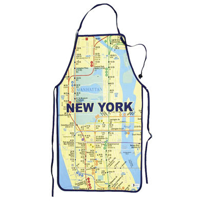 Subway Map Apron