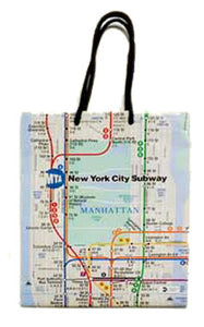 Subway Map Gift Bag (Medium)