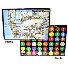 Subway Map Placemat