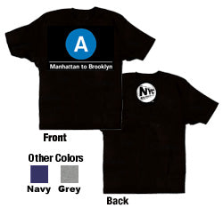 A (Manhattan to Brooklyn) Toddler T-Shirt