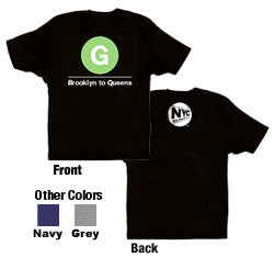 G (Brooklyn to Queens) Toddler T-Shirt