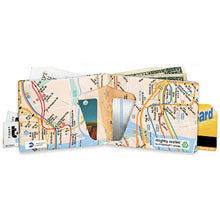 New York Subway Map Mighty Wallet