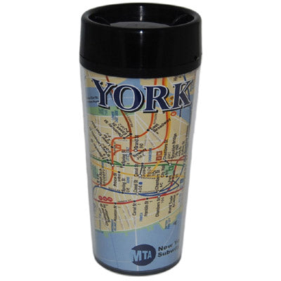 Subway Map Travel Mug