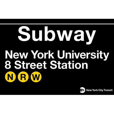 NYU Subway Magnet