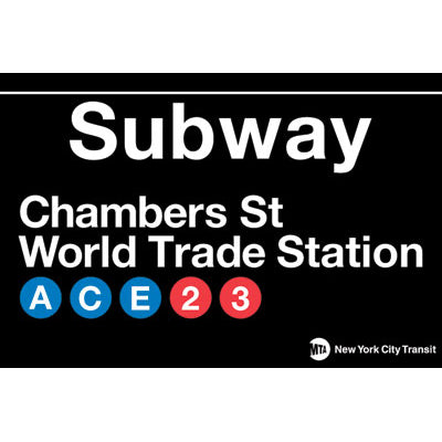 World Trade Subway Magnet