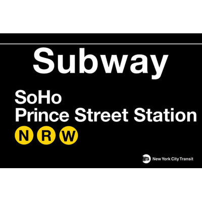 SoHo Subway Magnet