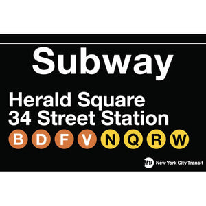 Herald Square Station Magnet