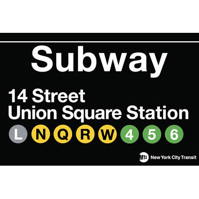 14th Union Square Magnet