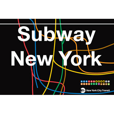 New York All Lines Magnet