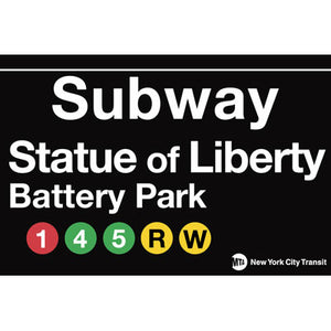 Battery Park / Statue of Liberty Magnet