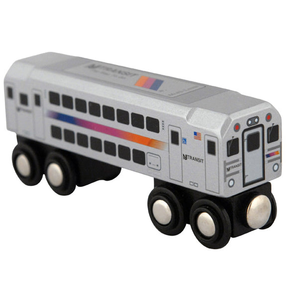 Multi Level Commuter Wooden Train