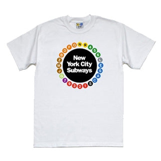 Multi Circle (White) Youth T-Shirt