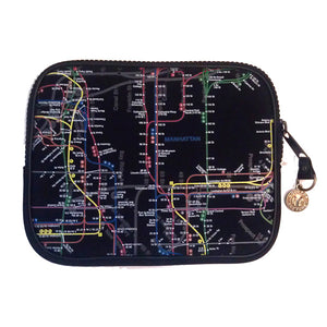 New York City Subway Map iPad Case