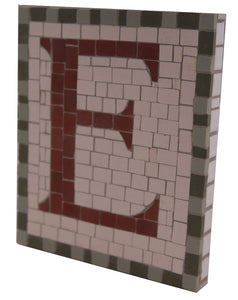 "Letter or Number (8"" x 10"") Mosaic Tile"