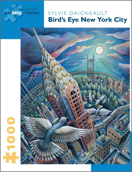 Bird's Eye New York City Puzzle