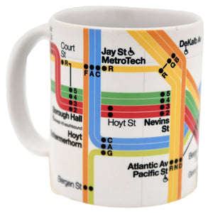 Vignelli Diagram 2011 (Brooklyn Detail) Mug