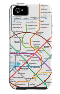 Moscow Metro iPhone Case
