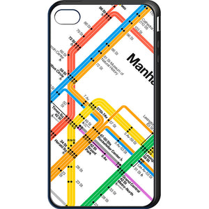 Vignelli Diagram 2011 (Manhattan Detail) Cell Phone Case
