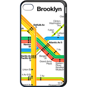 Vignelli Diagram 2011 (Brooklyn Detail) Cell Phone Case