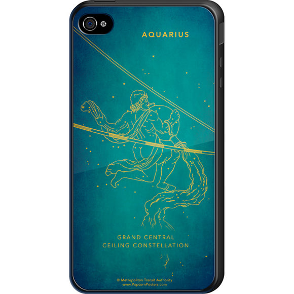 Grand Central Ceiling (Aquarius) Cell Phone Case