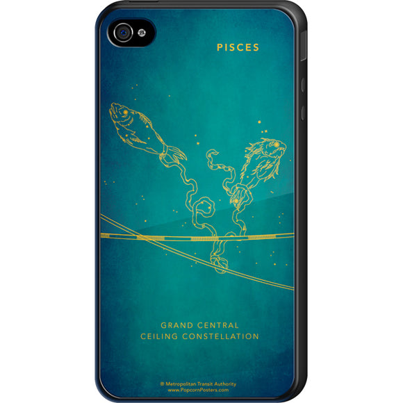 Grand Central Ceiling (Pisces) Cell Phone Case