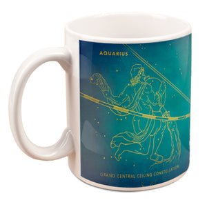 Grand Central Ceiling (Aquarius) Mug