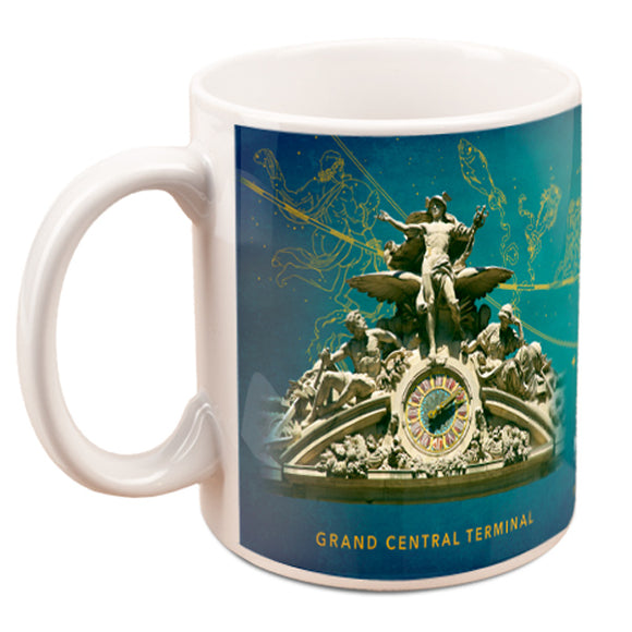 Grand Central Clocks and Ceiling Mug