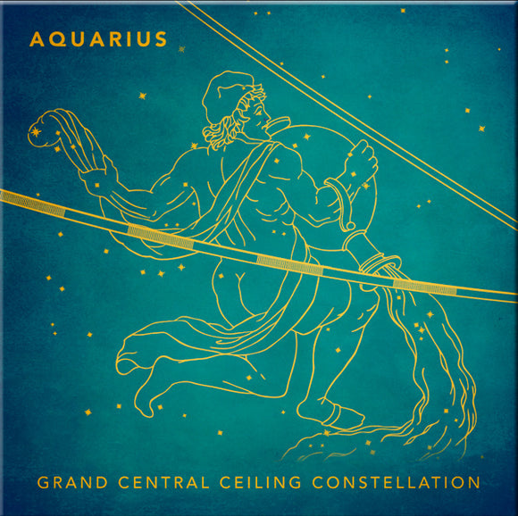 Grand Central Ceiling (Aquarius) Magnet