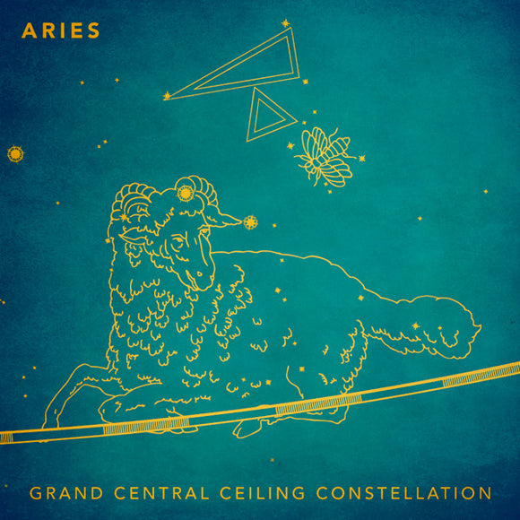 Grand Central Ceiling (Aries) Magnet