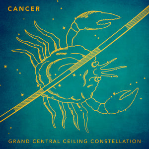 Grand Central Ceiling (Cancer) Magnet