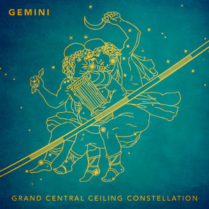 Grand Central Ceiling (Gemini) Magnet