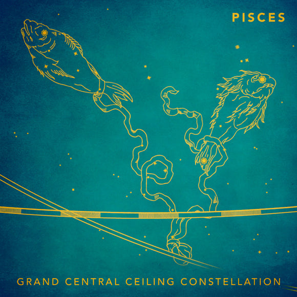 Grand Central Ceiling (Pisces) Magnet