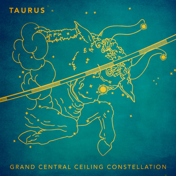 Grand Central Ceiling (Taurus) Magnet