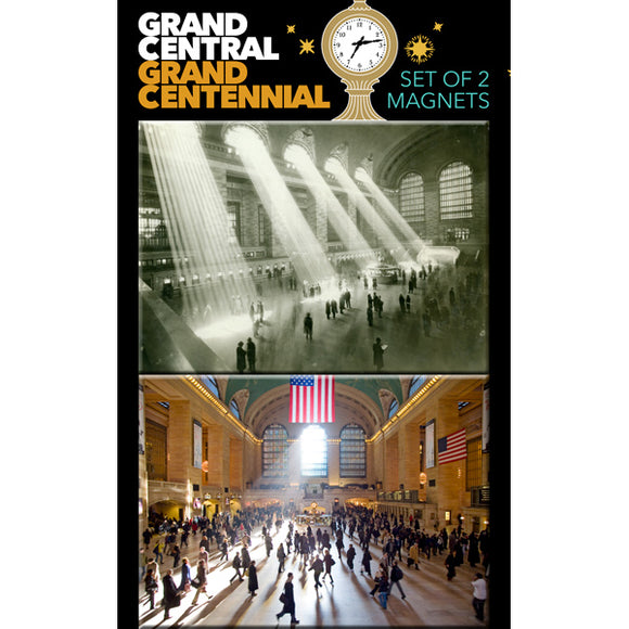 Grand Central Interior Magnet (Set of 2)